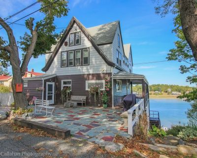 Waterfront Home with Spectacular Viewsof the Annisquam River - Gloucester