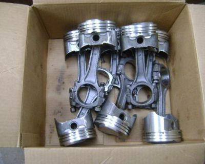 1970 454 Ls-6 Balanced Rotating Assembly St. Steel Crank .030 Pistons Rods