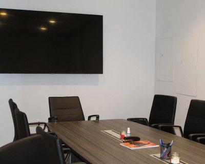 Conference Room in Modern Midtown Office Space, Atlanta, GA