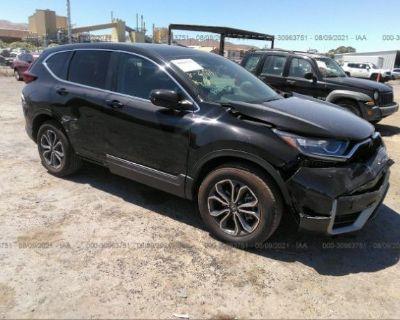Salvage Black 2020 Honda Cr-v