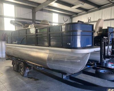 2020 Misty Harbor 20' Pontoon Fish & Cruise Boat