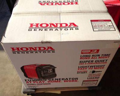 Honda generator eu 3000 is