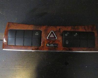 Wood Grain Dash Switch Hazard Lock Esp Control Mercedes Clk 08