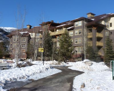FLAGSHIP PANORAMA CONDO 2 bed 2 bath ski in/out Upper Village clean fee INC - Panorama