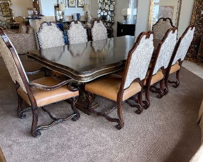 Marge Carson Dining Table Blowout