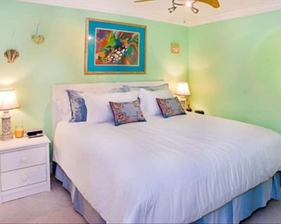 South Seas Beach Front king bed sleeper ON BEACH higher floor 3 pools BEACH OPEN - Captiva