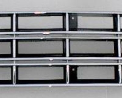 Chrome Blk Grille Set 83-90 S10 Pickup S-10 Blazer 4x4