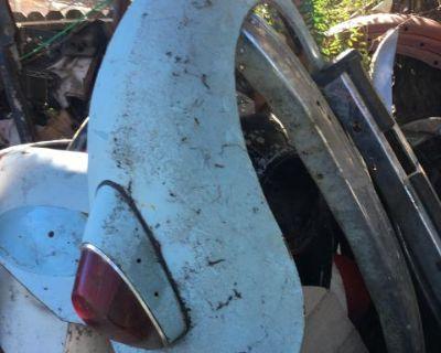 Right rear fender German bug 1968-72
