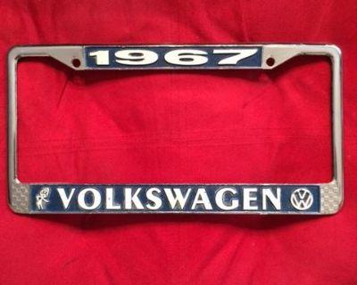 1967 VW License Plate Frame
