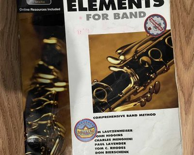 Clarinet book 1 for band