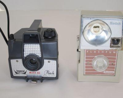 FS: 2 Toy Cameras $20 shipped: Kodak Flashfun (127), Imperial Flash Mark XII (620)