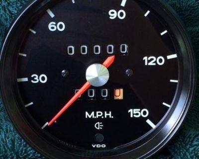 1973 Porsche 914 Speedometer (Restored)