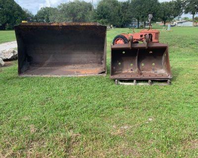 Heavy equipment buckets excavator buckets