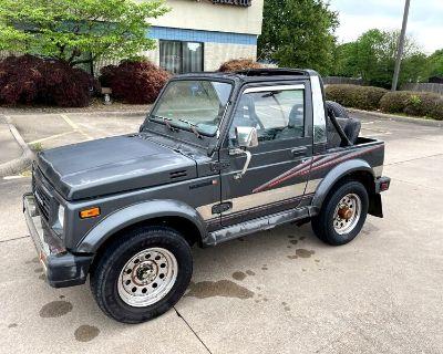 1989 Suzuki Samurai Standard Plus soft-top