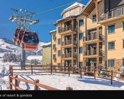 2 bedroom Presidential Suite Ski in/out furnished kitchen washer dryer patio - Park City