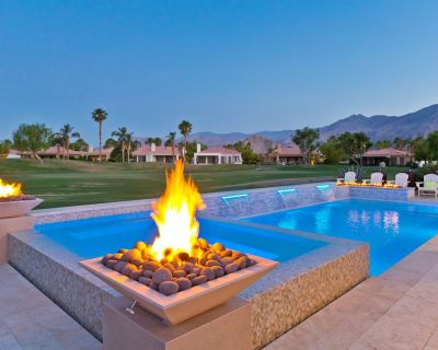 Brand new salt water pool, huge spa with 10 jets, and fire features. - La Quinta