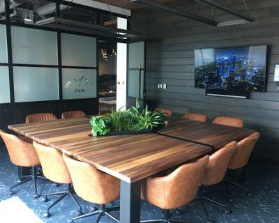 Modern, LoDo Meeting Room