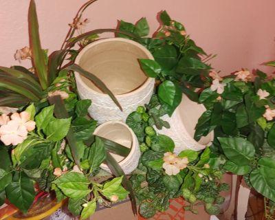 Artificial deco plants