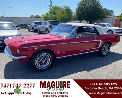 1967 FORD MUSTANG CONVERTIBLE 0