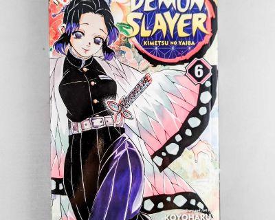 Demon Slayer manga vol 6