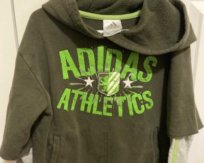 hooded sweats size 6 ,kid s