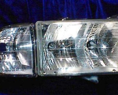 R Headlight 99 00 01 Dodge Ram *sport* Pickup 1999-2001