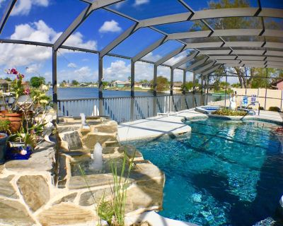 Serenity, Gorgeous Water Views,Heated Elec Pool & Spa, Large Outdoor Patio, WIFi - Caloosahatchee