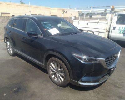 Salvage Dark Blue 2021 Mazda Cx-9