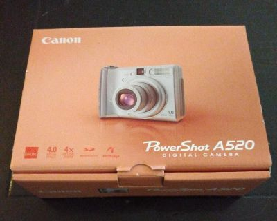 Cannon power shot A520 digital camera new in box