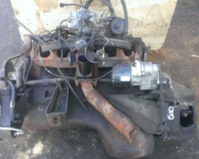 Dodge 225 Slant Six Good Running Engine Complete 1984-fits Many Years