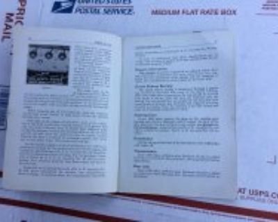 Original 1933 ford owners manual