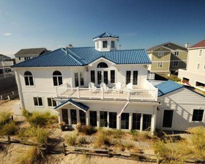Breathtaking Beachfront Home Full of One-Of-A Kind Character (360 deg tour link) - Dewey Beach