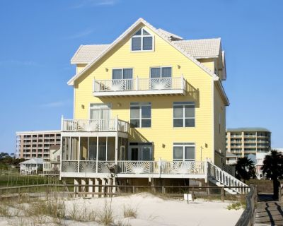 Large, Gulf- Front Beach House With Community Pool - Fort Morgan