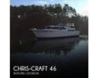 46 foot Constellation Chris Craft: 46