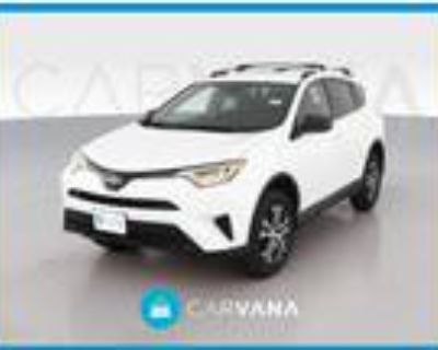 2017 Toyota RAV4 White, 36K miles