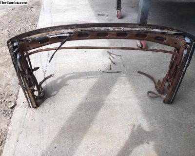 convertible top frame 73-79 Super Beetle ???