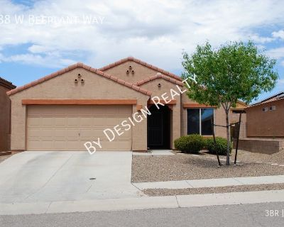 NW Tucson 3 Bed 2 Bath+Den