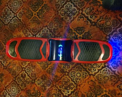 Viro rides free-style hoverboard
