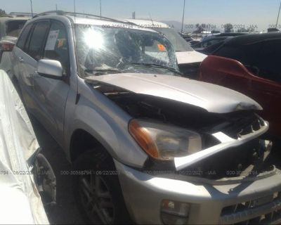 Salvage Gray 2003 Toyota Rav4