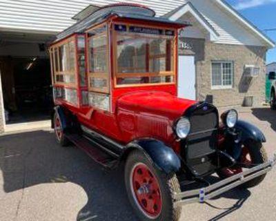 1929 Ford Model 4A Popcorn Truck