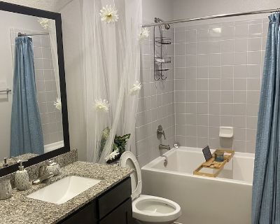 Luxury Entire clean Apartment w/ king size bed .Located by George Bush Airport - Humble