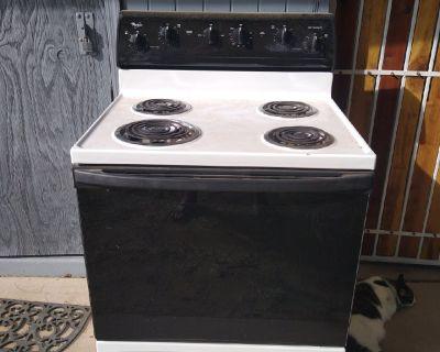 Free working Whirlpool stove