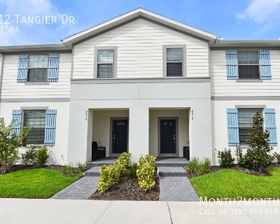 Tangier Dr 5 BR Townhome, Brand New