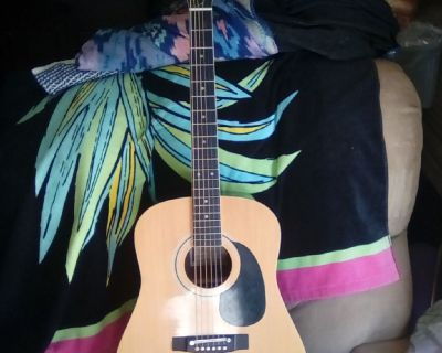 (Sold) harmony guitar