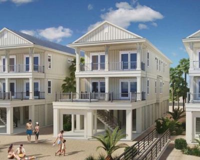 Stunning New Beachfront home with Private Pool. Orange Tides by Kaiser Vacation Rentals. - Orange Beach