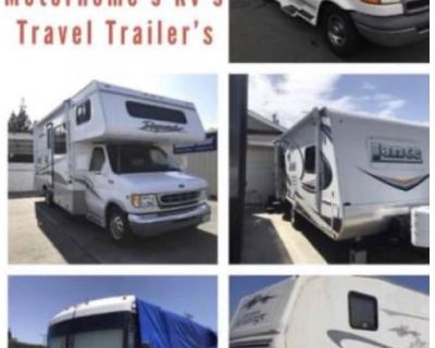 Wanted RV motorhome 5th wheel travel trailer toy hauler CLASS A B C as is condition