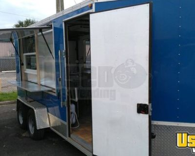 2013 7' x 14' Food Concession Trailer with BRAND NEW 2021 Kitchen Buildout