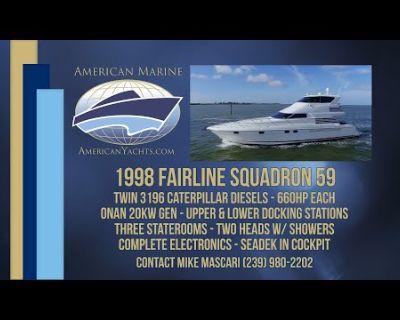 Fairline - SQUADRON 59