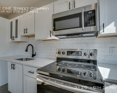Apartment Rental - 3126 16th St NW