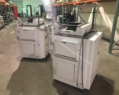 (2) Ricoh Pro C5100s Color Production Printers RTR# 0011642-01